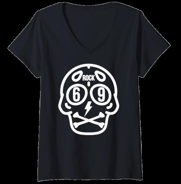 V neck rock t-shirt